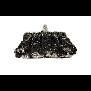 NEW authentic Christian Louboutin sequin clutch